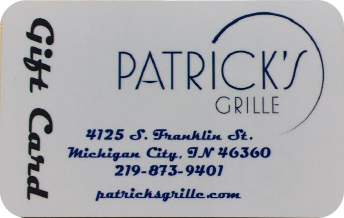 Patrick's Grille Gift Card