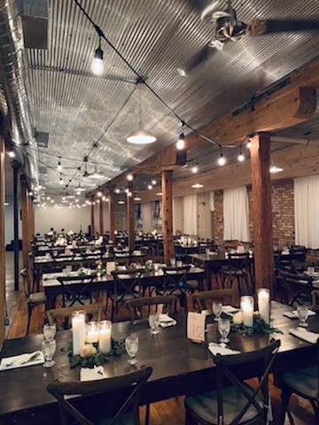 Wedding reception venue catered by Patrick's Grille