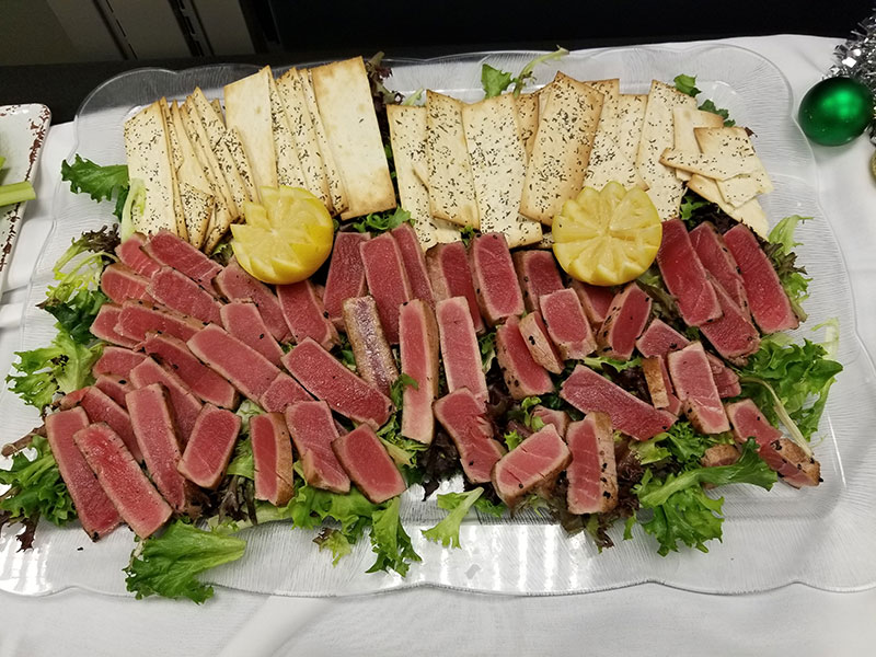 Patrick's Grille steak platter for corporate event